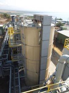 Biomass plant equipment