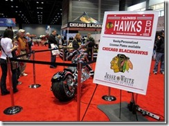 CHICAGO BLACKHAWKS CHOPPER FEATURED AT CHICAGO AUTO SHOW 5