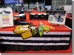 CHICAGO BLACKHAWKS CHOPPER FEATURED AT CHICAGO AUTO SHOW 6