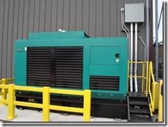 back up generator set