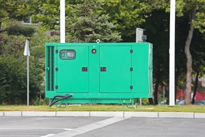 Commercial Diesel Backup Generator