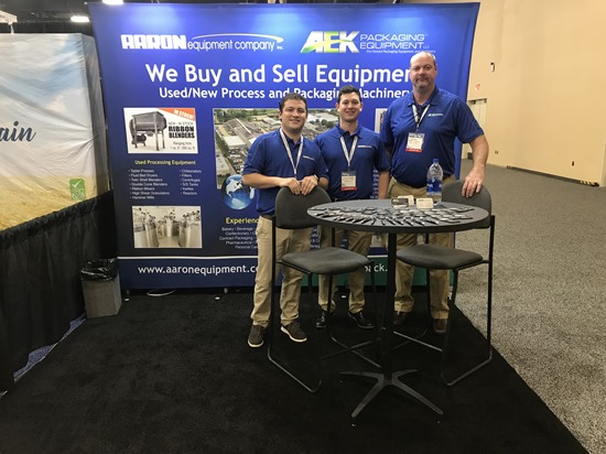 Aaron Equipment SupplySide West