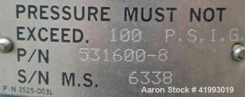 "Used- Chemineer Agitator Seal, Part #531600-8.  2"" diameter shaft opening.  Rated 100 psi max."