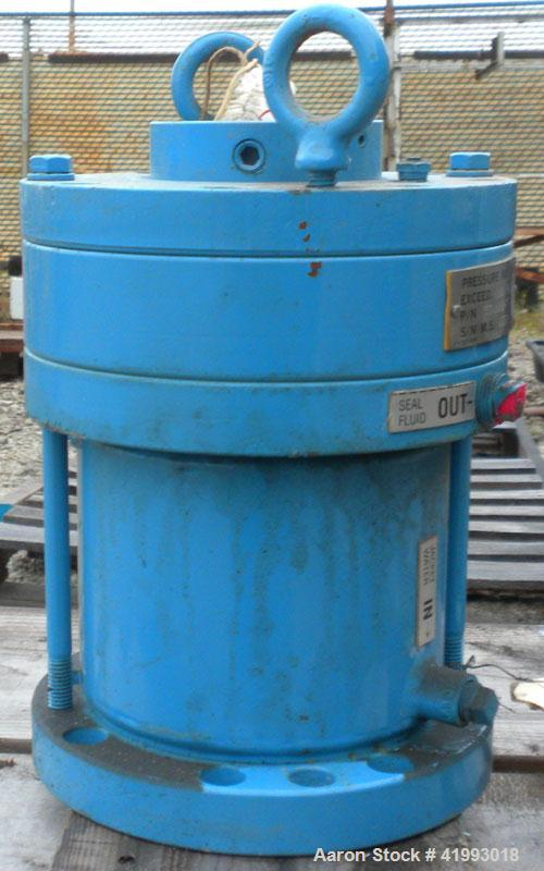"Used- Chemineer Agitator Seal, Part #531600-7.  2"" diameter shaft opening. Rated 100 psi max."