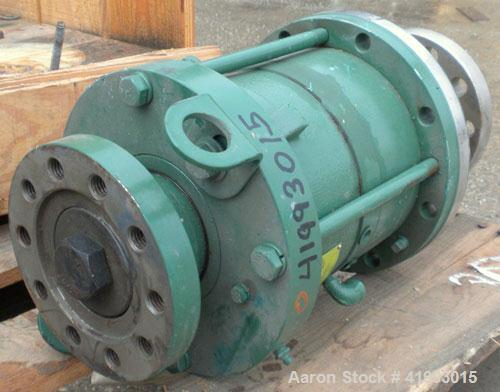 "Used- Lightnin Agitator Seal. Approximate 6-1/4"" diameter flange with 1-3/4"" Bolt Centers"