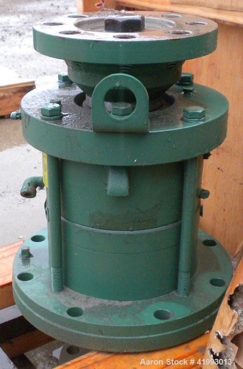 "Used- Lightnin Agitator Seal. Approximate 7 1/2"" diameter flange with 2-1/2"" bolt centers."