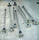 Used- Agitator Shaft, 316 Stainless Steel.  1