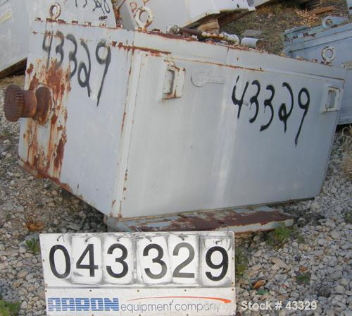 Used- Chemineer Top Entering Agitator, Model 11HTD-350. Open tank design. 350 hp rating, rated 1800/1200 rpm, impeller rpm 8...