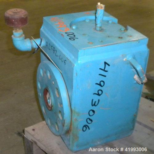 Used- Chemineer Agitator Gear Drive Only, Model 2-HSN-7.5, output 350 rpm.