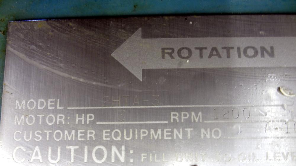 Used- Chemineer HT Top Entering Agitator, Model 2HTA-3