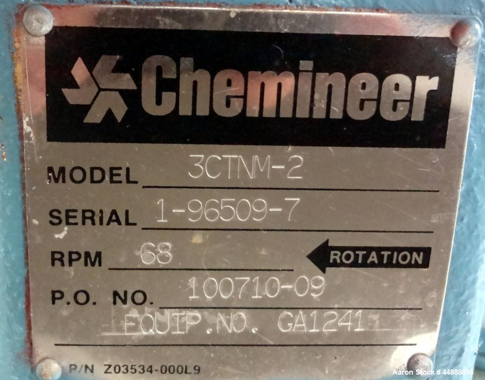 Used- Chemineer CT Top Entering Agitator, Model 3CTNM-2