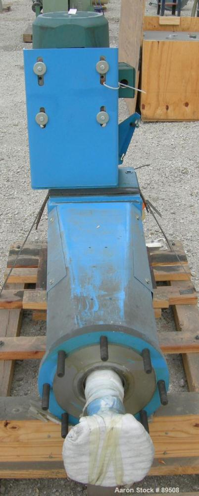"Unused- Chemineer Top Entering Agitator, Model 3HTN-10, closed tank design. 190/38 output rpm. 3"" diameter x 115"" long Incon..."