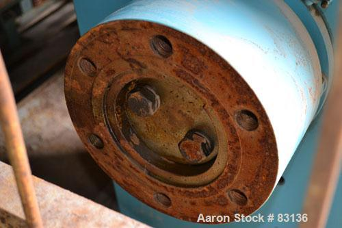 """Used- Chemineer Agitator Gearbox Only, Model 6HTM15. Input rpm 900, output rpm 30. Approximate 9-3/8"""" OD carbon steel shaft ..."""