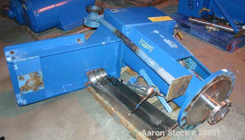 "Used- Chemineer Right Angle Design Top Entering Agitator, Model 6HTNV-30. Stuffing box seal. Impeller rpm 84/21. 24"" diamete..."