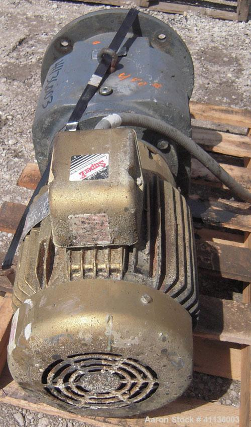 Used- Falk Flange Mounted Agitator, Model 08UCFN2A14.A8D. Ratio 14.76 to 1. Driven by a 10 hp, 3/60/230/460 volt, 1760 rpm m...