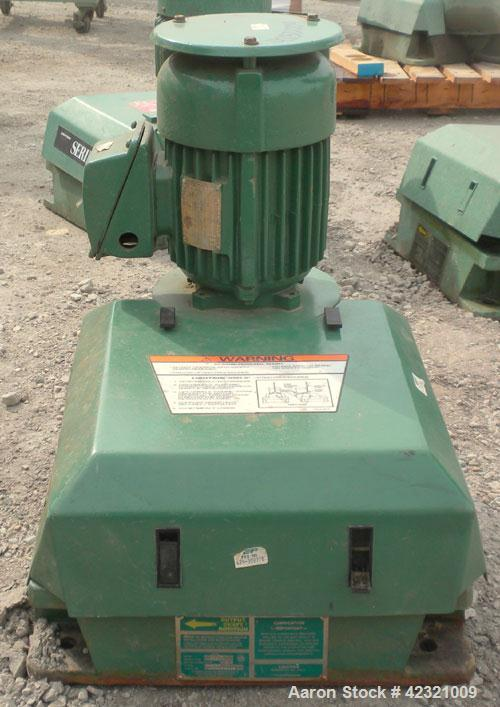 """Used- Lightnin Series 10 Top Entering Agitator, Model 14Q2. Ratio 14.06 to 1, output 125 rpm. Includes a 2"""" diameter x appro..."""