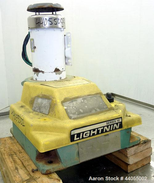 Used- Lightnin Series 10 Top Entering Agitator, Model 14Q2