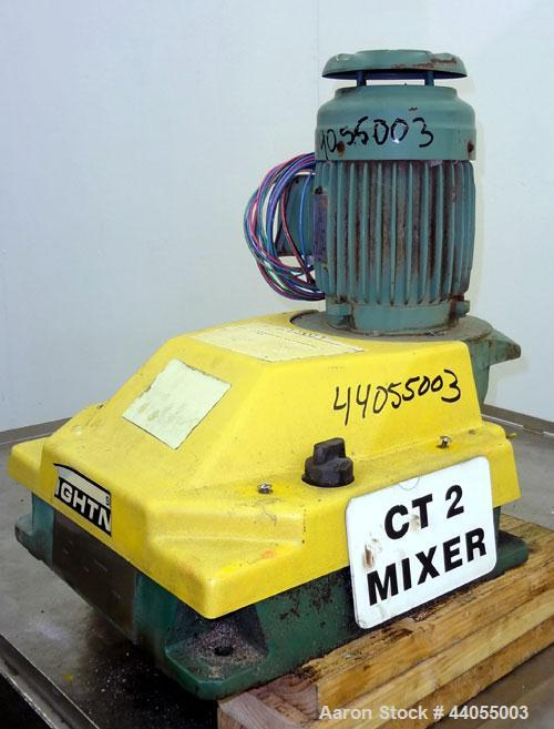 Used- Lightnin Series 10 Top Entering Agitator, Model 14Q2