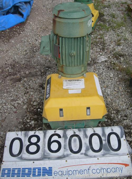 USED- Lightnin Top Entering Agitator, Series 10, Model 15Q3. Open tank design, ratio 17.31:1, output RPM 68. Driven by a 3 H...