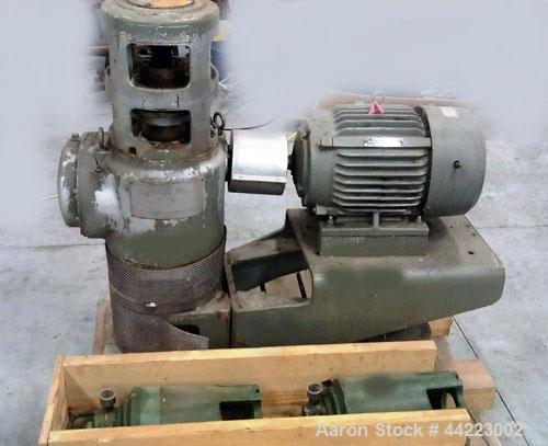 Used-Lightnin Agitator, Model 218-TEQ-5.2, rpm 100/25, ratio 17.1 to 1.  10 Hp, 3/60/460 volt, 1775 rpm XP motor.