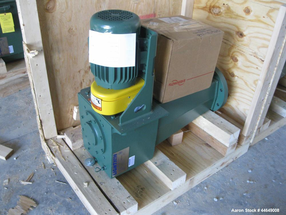 Unused- Lightnin Agitator, Model 72S5. Counter-clockwise rotation. Ratio 21.9 to 1, output 83 rpm. Includes a 5 hp, 3/60/230...