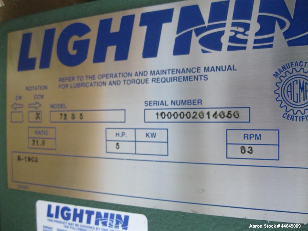Lightnin Agitator, Model 72S5