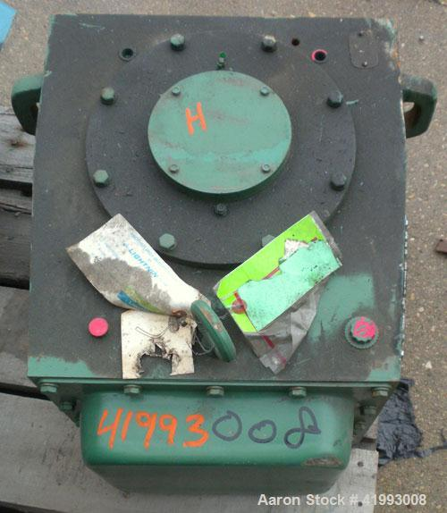 Used- Lightnin Agitator Gear Drive Only, Model 73-Q-7.5. Ratio 25.2 to 1, output 68 rpm.