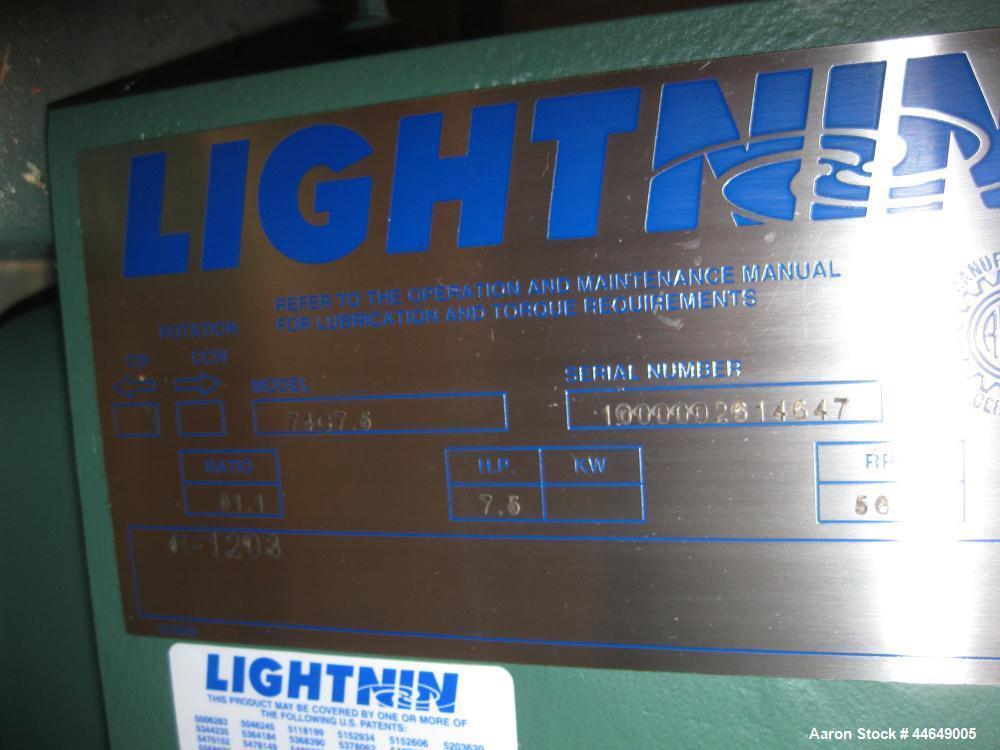 Lightnin Agitator, Model 74C7.5