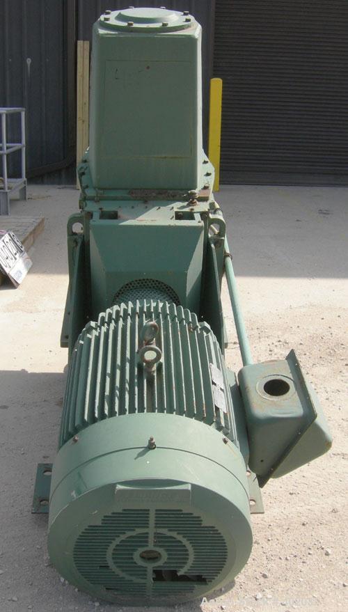 "Used- Lightnin Top Entering Agitator, Model DAT-170. Bolt-on structural mounting design. 26"" diameter carbon steel mounting ..."