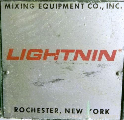 "Used- Lightnin Clamp-On Agitator, Model ND-1.  5/8"" Diameter x 32"" long 316 stainless steel shaft, no blade.  Driven by a 1/..."