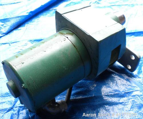 Used- Lightnin Top Entering Agitator, Model NDO-25. Requires a shaft, prop.  Driven by a 1/4 hp, 3/60/230/460 volt, 1725 rpm...