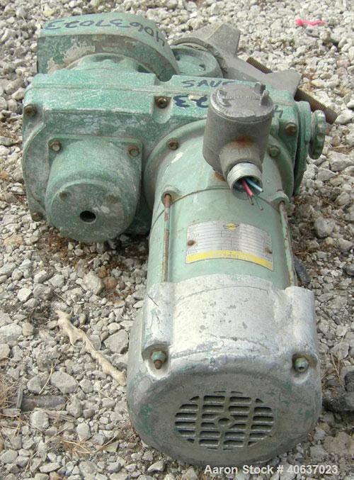 Used- Lightnin Clamp-On Agitator, model NS3V. Driven by a 1/2 hp, 3/60/220/440 volt, 1800 rpm XP Allispede varispeed motor. ...