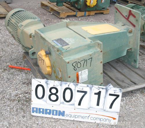 "USED: Lightnin top entering agitator, model SX506030C. Open tank design, ratio 21.55:1. Output rpm 20/90, 9-1/2"" diameter ca..."