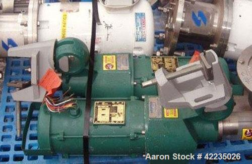 Used- Lightnin Clamp-On Mixer, Model X5P100. Requires shaft. Includes a 1-1/2 hp, 3/60/220/440 volt motor.