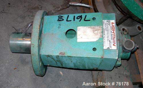 Used- Lightnin Air Operated Flange Mount Agitator, Model XDC-30 SCR. Requires shaft.