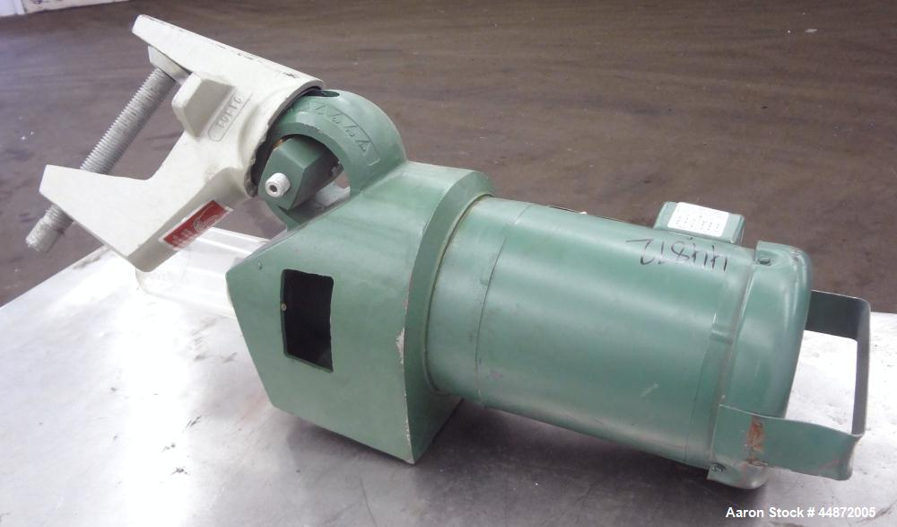 "Used- Lightnin Clamp-On Agitator, Model XJ-65.  0.65 Hp, 1/60/230/460 volt, 1740 rpm motor.  Requires an approximately 5/8"" ..."