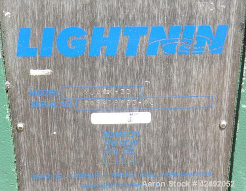 Used- Lightnin Fixed Mount Air Operated Agitator, Model XJACK-33