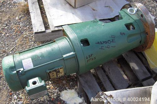 Unused- Lightnin Agitator, Model XJSS350. Flange mount, mechanical seal design. Driven by a 3 1/2hp, 3/60/230/460 volt, 1750...