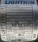 USED: Lightnin clamp-on agitator, model EV5P33. 3/4