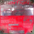 Used- Lightnin Clamp On Agitator, Model ND-4V. 1