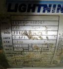 Used- Lightnin Agitator, 316 Stainless Steel Shaft, 77-1/2