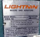 Used- Lightnin Clamp-On Agitator, Model XJ-30.  0.30 Hp, 1/60/115/230 volt, 1725 rpm motor.  Requires an approximately 5/8