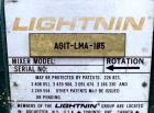 Used- Lightnin Top Entering Agitator, Model XJC-30. Includes an approximate 4