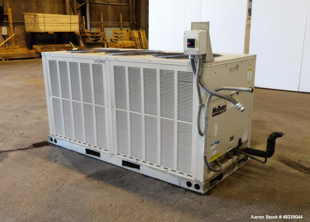 Used Mcquay Air Conditioning Air Cooled Rooftop
