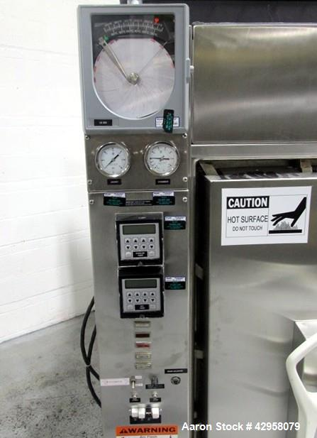 Used- Amsco Pass Thru Steam Sterilizer, Model R78S-4.