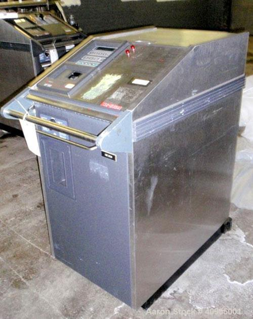 Used- Amsco Vaporized Hydrogen Peroxide Sterilizer, Model VHP 1000. 1/60/120 volt, 1.92 kw, 16 amp. Portable design, serial ...