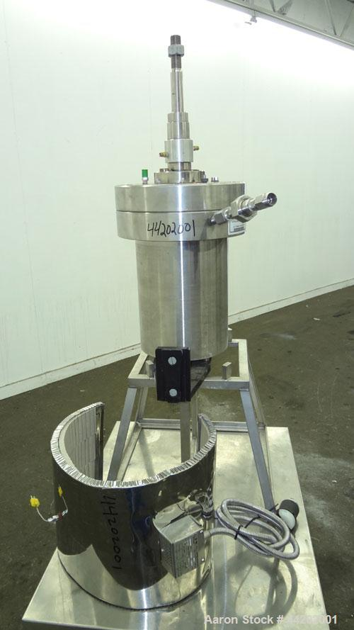 "Used- Autoclave Engineers Autoclave, 3 Gallon, Hastelloy C-276, Vertical. Approximate 8-1/2"" diameter x 13"" straight side. F..."