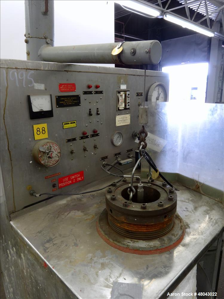 Used- EG&G Chandler Engineering Corrosion Test Autoclave, Model #56-125.