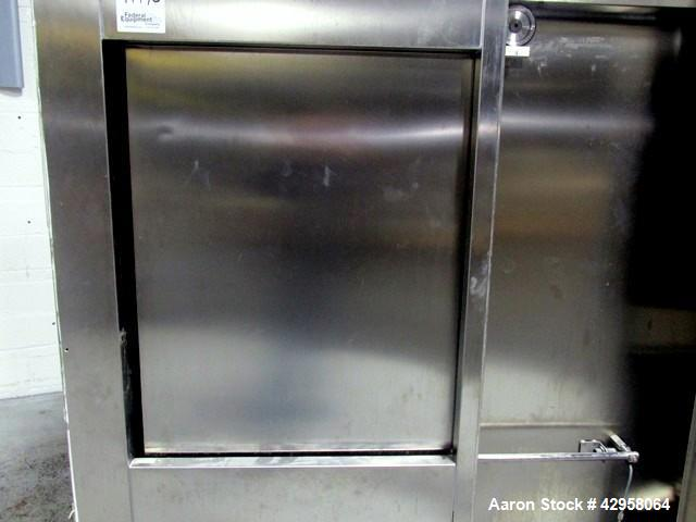 Used- Fedegari Autoclave, Model FOF/3.