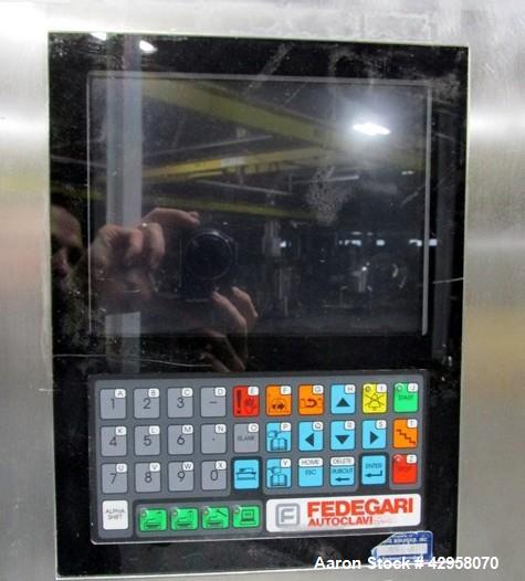 Used- Fedegari Autoclave, Model FOF/3.